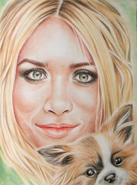 Ashley Olsen by whitelily